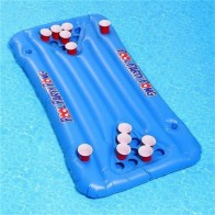 US $23.59 17% OFF|PVC Inflatable Beer Pong Ball Table Water Floating Raft Lounge Pool Drinking Game 24 Cups Holder-in Air Mattresses from Sports & Entertainment on Aliexpress.com | Alibaba Group