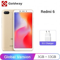 US $103.99 |Global Version Original Xiaomi Redmi 6 3GB 32GB Smartphone Helio P22 Octa Core CPU 12MP+5MP Dual Cameras 5.45