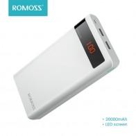 1236.63 руб. 39% СКИДКА|20000 мАч ROMOSS Sense 6 P power Bank Dual USB портативный внешний аккумулятор с светодиодный дисплеем быстрое портативное зарядное устройство для телефонов планшетов-in Внешний аккумулятор from Мобильные телефоны и телекоммуникации on Aliexpress.com | Alibaba Group