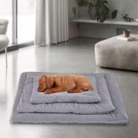 Кровать для кошек и собак, коврик для домашних животных, зимнее толстое теплое одеяло для кошек и собак, диван для щенков и кошек, теплый спал... - Тёплое для хвостатых