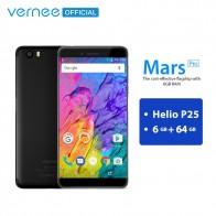 13082.11 руб. |Vernee Mars Pro 6 ГБ 64 Гб телефон MTK6757 Helio P25 смартфон на базе восьмиядерного процессора 13.0MP Камера Android 7,0 5,5