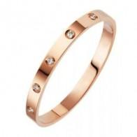Подробные сведения о  New Fashion Classic Women's Bangles For Women Gold Silver Rose Gold Color 1pc - for beauty