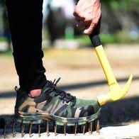 Стальной носок безопасности обувь воздухопроницаемая разбить доказательство проколостойкие защитная обувь Рабочая обувь сапоги безопасности