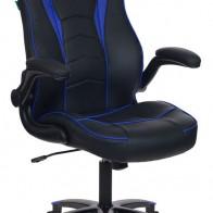 Кресло игровое БЮРОКРАТ VIKING-2, черно-синий