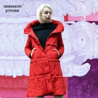 US $99.99 |Hermann Joyner 2018 Winter Fashion Women Down Jacket High Quality Female Casual Down Coat White Duck Down 95%Cashemere Warm Soft-in Down Coats from Women