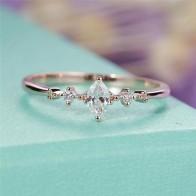 99.43 руб. 30% СКИДКА|ROMAD огранка маркиз Обручение кольцо для Для женщин три камня кластера свадебные кольца, свадебные украшения изящное женское кольцо на палец R3-in Помолвочные кольца from Украшения и аксессуары on Aliexpress.com | Alibaba Group