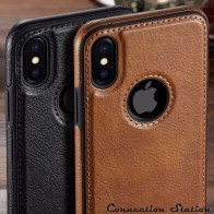 US $3.24 35% OFF|For iPhone XS Max XR  Case  Luxury Vintage PU Leather Back Ultra Thin Case Cover for iphone X 8 7 6 6S Plus Case-in Fitted Cases from Cellphones & Telecommunications on Aliexpress.com | Alibaba Group