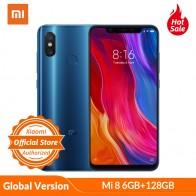 24834.66 руб. |Глобальная версия Xiaomi Mi 8 6 GB 128 GB мобильный телефон 6,21