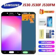 US $21.84 23% OFF|Adjustable LCD Galaxy J530 2017 For Samsung J5 2017 Display Touch Screen Digitizer J5 Pro J530 J530F LCD 5.2