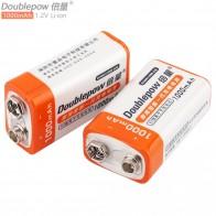 927.24 руб. 36% СКИДКА|Распродажа doulepow 2 шт 9 В 1000 мАч литий ионные перезаряжаемые батарейки батарея с 1200 циклом для мультиметра/беспроводного микрофона/сигнализации-in Подзаряжаемые батареи from Бытовая электроника on Aliexpress.com | Alibaba Group