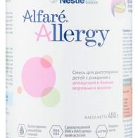 Купить Смесь Alfare (Nestle) Allergy (с рождения) 450 г по низкой цене с доставкой из маркетплейса Беру