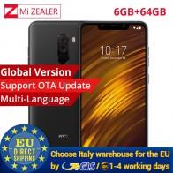 18576.87 руб. |Глобальная версия Xiaomi POCOPHONE F1 Поко F1 6 ГБ 64 GB мобильный телефон 6,18