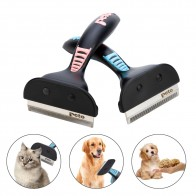 US $4.28 |Pet Dog Cat Hair Removal Brush Comb Pet Grooming Tools Hair Shedding Trimmer Comb for Dogs Cats-in Dog Combs from Home & Garden on Aliexpress.com | Alibaba Group