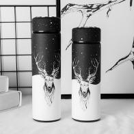 772.27руб. 52% СКИДКА|Бутылка термос с узким горлом, вакуумная Термочашка, нержавеющая сталь вакуумная колба Изолированная бутылка контейнер, Открытый путешествия чашка, BPA бесплатно-in Вакуумные фляги и термосы from Дом и животные on AliExpress