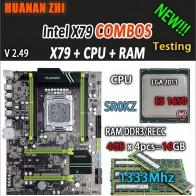 18400.64 руб. |HUANAN ZHI V2.49 X79 материнская плата LGA2011 блок питания ATX комбо E5 1650 C2 SR0KZ 4x4G 16 Гб 1333 МГц USB3.0 SATA3 PCI E NVME M.2 SSD купить на AliExpress