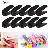 1005.71 руб. 20% СКИДКА|10 шт. прочный регулируемый органайзер для обуви держатель для обуви слот для экономии пространства шкаф стенд стеллаж для хранения обуви коробка для обуви-in Полки и органайзеры для обуви from Дом и сад on Aliexpress.com | Alibaba Group