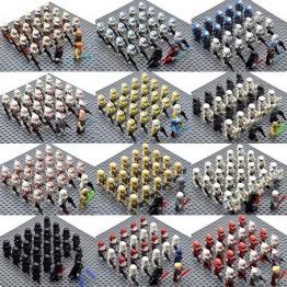 US $7.65 |23pcs/set Star Wars 501st Legion 41st Elite Corps Stormtrooper Snowtrooper Palpatine Yoda Anakin Building Blocks Bricks Toys -in Blocks from Toys & Hobbies on Aliexpress.com | Alibaba Group