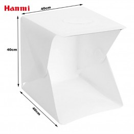 US $23.5 53% OFF|Hanmi 40cm Led Light Mini Photo Studio Tabletop Shooting Light Box Softbox Tent Lightbox Soft Box Accessories Backdrops Lightbox-in Tabletop Shooting from Consumer Electronics on Aliexpress.com | Alibaba Group