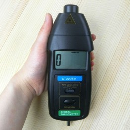 1466.73 руб. 7% СКИДКА|DT 2236B фотоэлектрический тахометр и контакт тахометр две функции метр RPM метр Скорость лазерный tacometro цифровой тахометр-in Приборы для измерения скорости from Орудия on Aliexpress.com | Alibaba Group