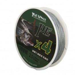 130.97 руб. 28% СКИДКА|100 м PE плетеная леска 4 подставки 10 80LB Multifilament леска для Карповой рыбалки провода для всех Рыбалка купить на AliExpress