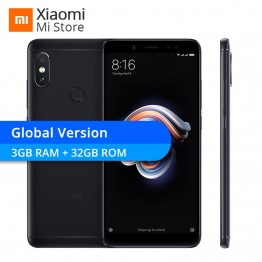10781.2 руб. |Новая глобальная версия Xiaomi Redmi Note 5 3 GB Оперативная память 32 ГБ Встроенная память мобильного телефона Snapdragon 636 Octa Core 5,99