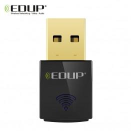 468.75 руб. 49% СКИДКА EDUP USB Wi Fi адаптер 300 Мбит/с 802.11n Wi Fi приемник USB Ethernet адаптер сетевой карты Окна Mac для ноутбуков настольных ПК-in Сетевые карты from Компьютер и офис on Aliexpress.com   Alibaba Group