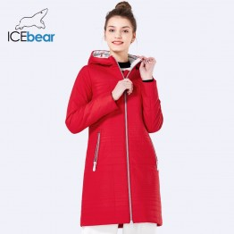 US $33.39 62% OFF|ICEbear 2019 Spring Long Cotton Women's Coats With Hood Fashion Ladies Padded Jacket Parkas For Women 17G292D-in Parkas from Women's Clothing on Aliexpress.com | Alibaba Group