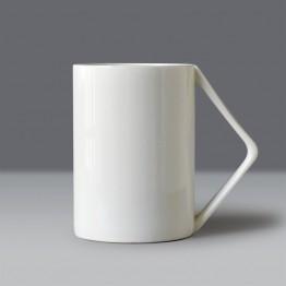 US $5.0  400ML, plain white bone china nespresso coffee mug, novelty design right angle handle, moomin water cup, ceramic mug bone china-in Mugs from Home & Garden on Aliexpress.com   Alibaba Group