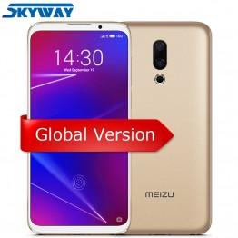 15958.36 руб. |Meizu 16 глобальная версия 6 ГБ ОЗУ 64 Гб ПЗУ Смартфон Snapdragon 710 Восьмиядерный 6,0