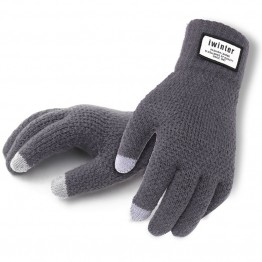 US $4.24 15% OFF|Men Cashmere Knitted Gloves Thick Warm Patchwork TouchScreen Glove Mittens 2019 Winter Spring Male Fitness Workout Glove Mitaine-in Men's Gloves from Apparel Accessories on Aliexpress.com | Alibaba Group