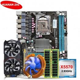 12741.0 руб. 43% СКИДКА HUANAN ZHI скидка X58 LGA1366 материнская плата комплект с Процессор Intel Ксеон X5570 2,93 ГГц Оперативная память 8 ГБ (2*4G) rec GTX750Ti 2G-in Материнские платы from Компьютер и офис on Aliexpress.com   Alibaba Group