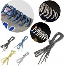 78.04 руб. 5% СКИДКА|Круглый канат светоотражающий бегун бегущий шнурки для спортивной обуви шнурки DIY купить на AliExpress