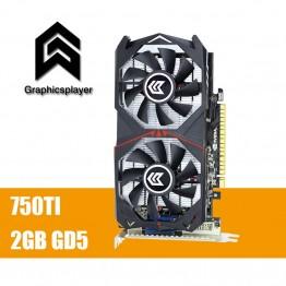 5046.04 руб. 56% СКИДКА Оригинальный Графика карты GTX 750TI 2048 МБ/2 ГБ 128bit GDDR5 пласа де video carte graphique видео карты для NVIDIA Geforce PC VGA купить на AliExpress
