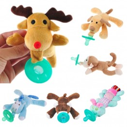 US $3.56 5% OFF Cute Baby Plush Toy Pacifier Newborn Baby Kids Boys Girls Cartoon Dummy Nipple Soother Silicone Pacifier Feeding Accessories-in Pacifier from Mother & Kids on Aliexpress.com   Alibaba Group