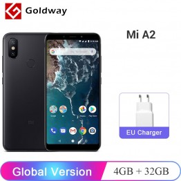 9811.42 руб. |Глобальная версия Xiaomi mi A2 mi A2 4 Гб Оперативная память 32 GB Встроенная память Мобильный телефон Snapdragon 660 Octa Core 20MP двойной Камера 5,99