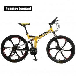 16193.31 руб. 35% СКИДКА Запуск Leopard складной bicycmountain велосипеда 26 дюймовый стальной 21 Скоростные Велосипеды двухдисковые тормоза дорожные велосипеды racing bicyc BMX БИК-in Велосипед from Спорт и развлечения on Aliexpress.com   Alibaba Group