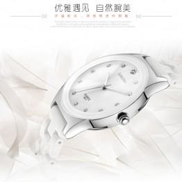 767.31 руб. 49% СКИДКА|Роскошные белые керамические водонепроницаемые классические легкочитаемый спортивные женские наручные часы, бесплатная доставка, высококачественные женские часы со стразами-in Женские часы from Ручные часы on Aliexpress.com | Alibaba Group