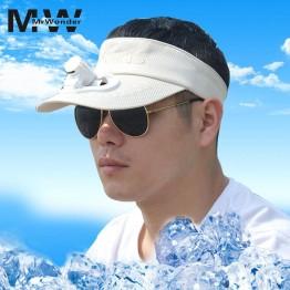 1287.25 руб.  Вентилятор шляпы от солнца творческий зарядка через usb шляпа с вентилятором съемный Топ кепки 5 цветов для женщин мужчин-in Мужские шляпы от солнца from Одежда аксессуары on Aliexpress.com   Alibaba Group