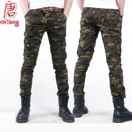 2162.69 руб. 5% СКИДКА|Fashion Camo Casual Military male trouser 2016 Thin Camouflage Men's Slim Spring Summer Combat Tactical Army Skinny Pencil Pant купить на AliExpress