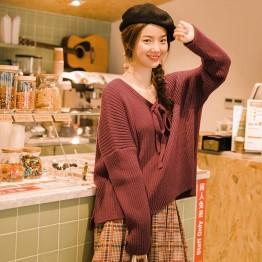 2210.28 руб. 48% СКИДКА|INMAN осень сплошной цвет v образный вырез необычный художественный длинный рукав женский пуловер свитер-in Пуловеры from Женская одежда on Aliexpress.com | Alibaba Group