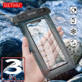 US $1.91 28% OFF|GETIHU Universal Waterproof Bag Pouch Phone Case For iPhone XS Max XR X 8 7 6 Plus Samsung S8 Note 8 For Huawei Water Proof Case-in Phone Pouches from Cellphones & Telecommunications on Aliexpress.com | Alibaba Group
