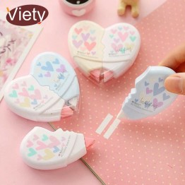 US $1.06 25% OFF 2 pcs/pair Love Heart correction tape material escolar kawaii stationery office school supplies papelaria 10M-in Correction Tapes from Office & School Supplies on Aliexpress.com   Alibaba Group