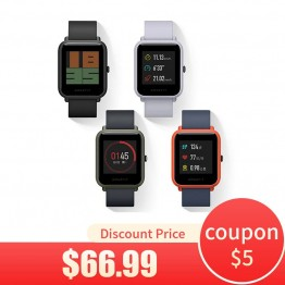 4709.14 руб. |Оригинальные часы Xiaomi AMAZFIT Bip Youth Edition Смарт часы gps Bluetooth 4,0 монитор сердечного ритма Смарт часы Android 4,4 IOS 8-in Смарт-часы from Бытовая электроника on Aliexpress.com | Alibaba Group