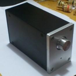 KYYSLB DIY Мини усилитель корпус 70*100*160 мм A0609 мини алюминиевый корпус AMP Корпус/усилитель коробка PSU коробка DIY