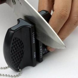 Кухонный нож точилка инструмент мини ABS домашний кухонный нож стержень Вольфрамовая сталь лагерь Карманный случайный цвет купить на AliExpress