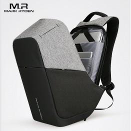 2714.39 руб. 50% СКИДКА Mark Ryden универсальный Зарядка через USB для мужчин 15 дюймов ноутбука Рюкзаки для подростка Модные мужские Mochila путешествия рюкзак анти вор купить на AliExpress