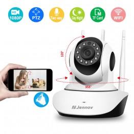 463.79 руб. 64% СКИДКА Домашняя беспроводная ip камера безопасности 1080 P Беспроводная мини сеть Wi Fi камера для внутреннего видеонаблюдения CCTV детский монитор аудио 2MP-in Камеры видеонаблюдения from Безопасность и защита on Aliexpress.com   Alibaba Group