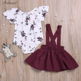 US $5.48 36% OFF ARLONEET 2Pcs Infant Baby Girls Floral Print Rompers Jumpsuit Strap Outfits Set Sleeve Cute Suit Jan10-in Clothing Sets from Mother & Kids on Aliexpress.com   Alibaba Group