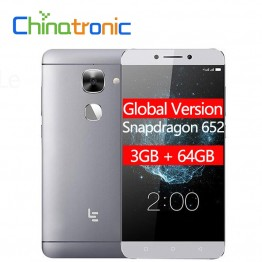 5884.5 руб.  Глобальная версия LeTV LeEco Le 2X526X520 3G ram 64G rom FDD LTE мобильный телефон Snapdragon 652 Octa Core 5,5