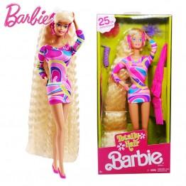 2717.16 руб. 39% СКИДКА Оригинальные куклы Барби 25th Коллекционная красивая принцесса для маленьких девочек игрушки для детей подарок для детей Brinquedos Bonecas-in Куклы from Игрушки и хобби on Aliexpress.com   Alibaba Group
